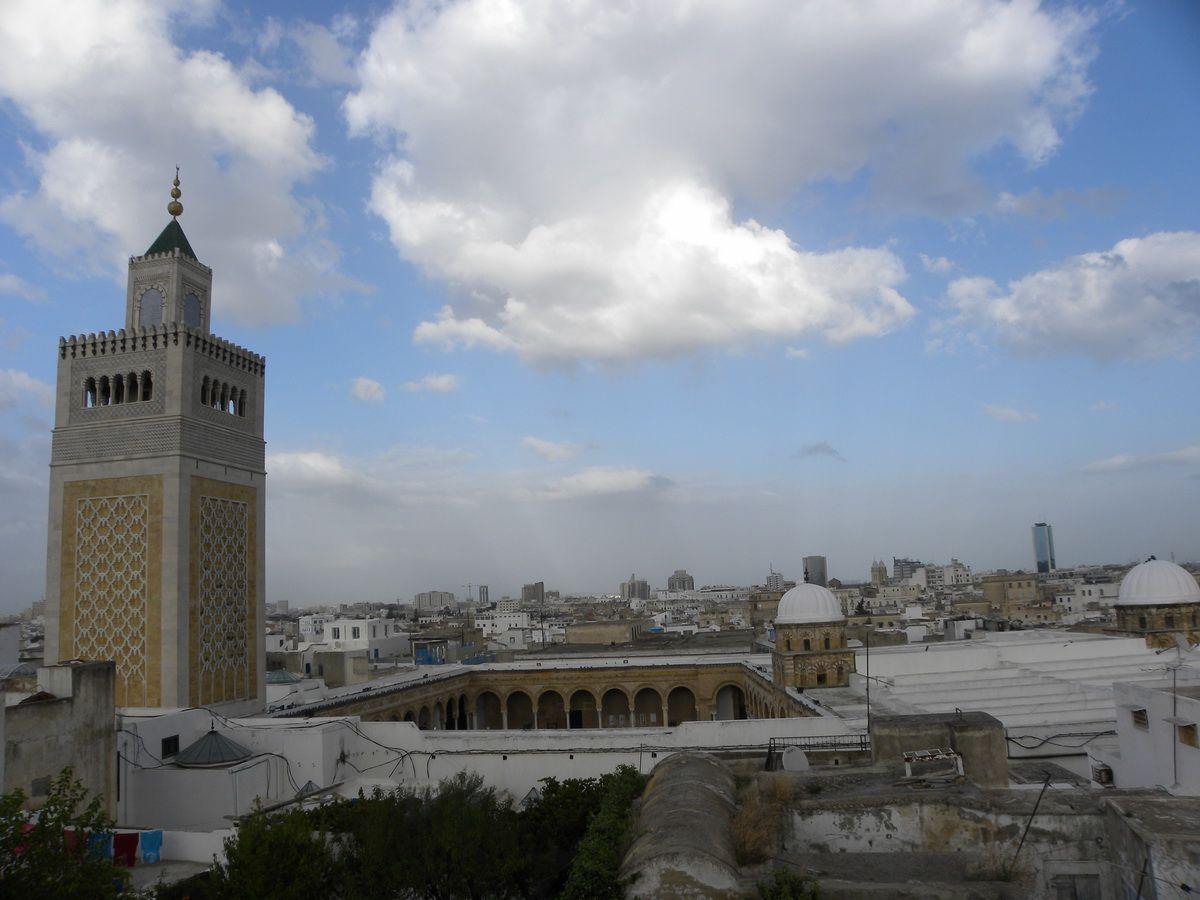 Al-Zaytuna Mosque in the Medina of Tunis