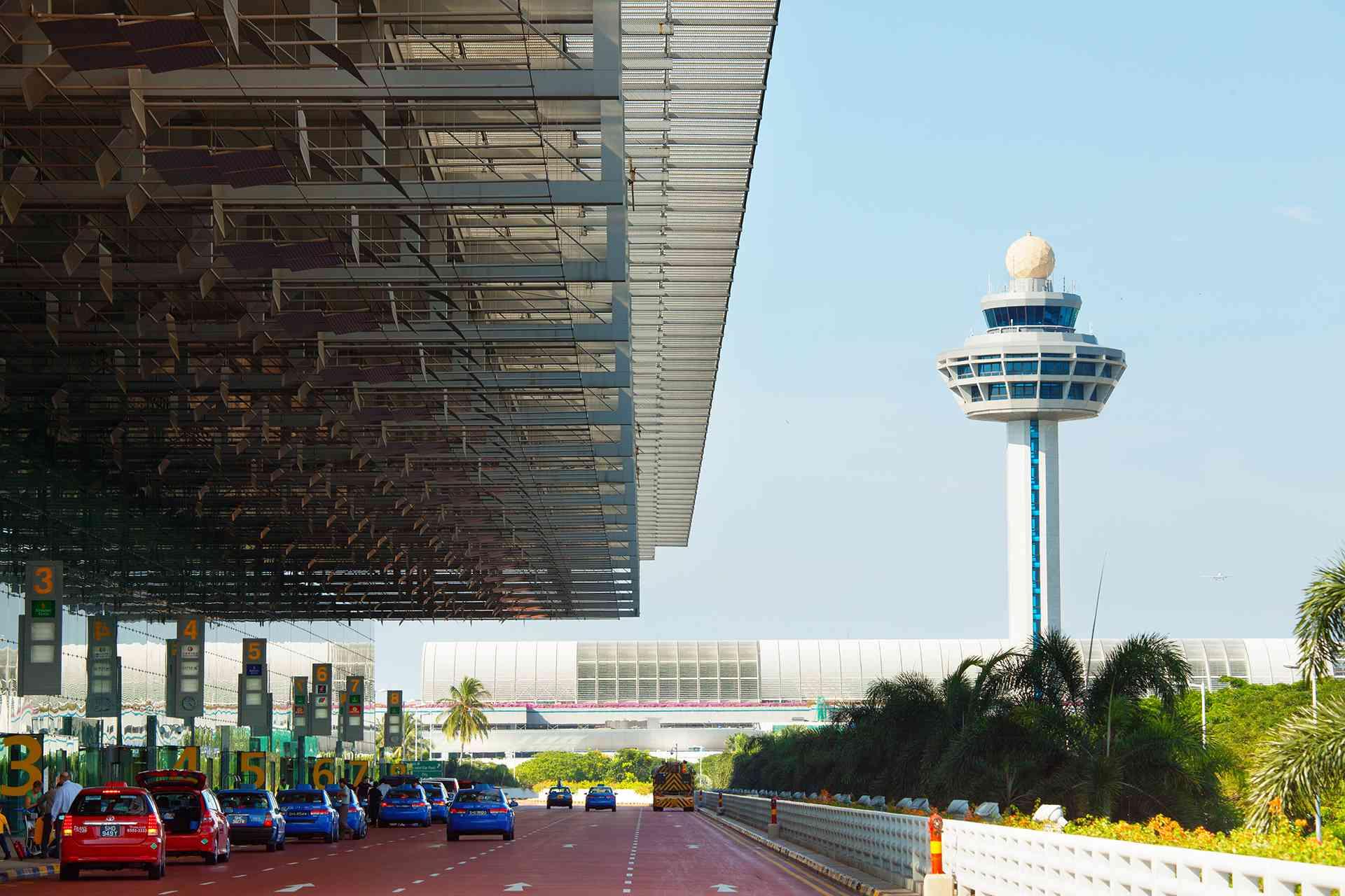 Singapore Changi Airport Control Tower