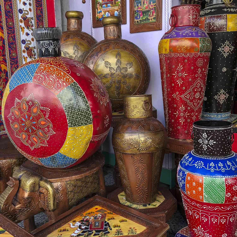 Udaipur handicrafts.