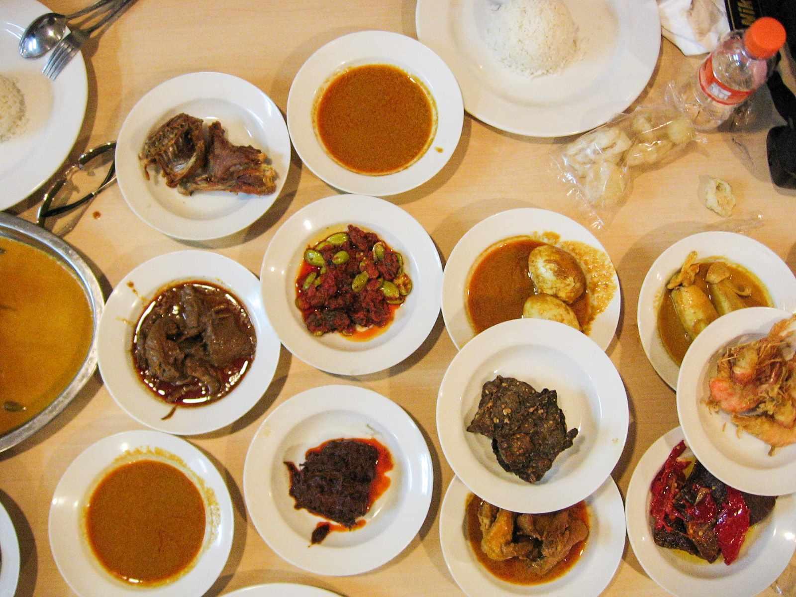 Padang food at Sari Bundo, Jakarta