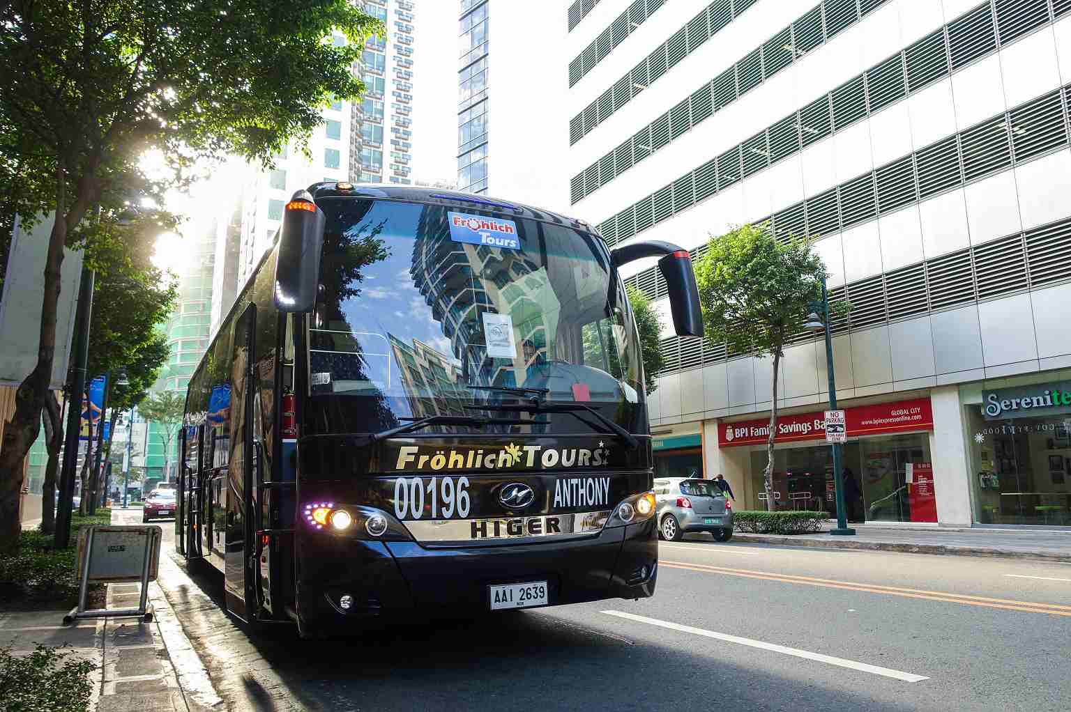 The Binge Bus in Bonifacio Global City, Manila, Philippines
