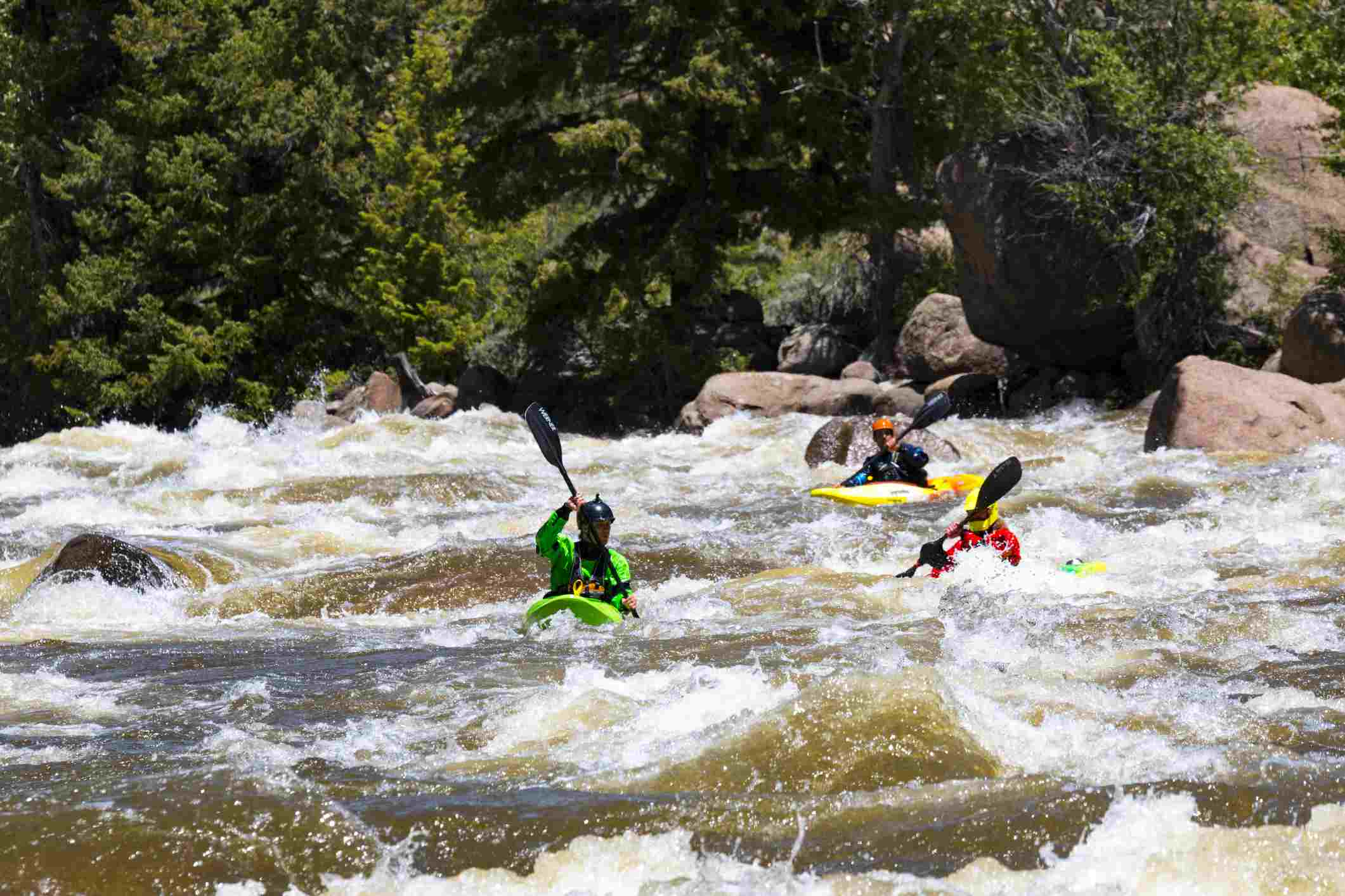 The Top 6 Places to Go White Water Rafting in Colorado
