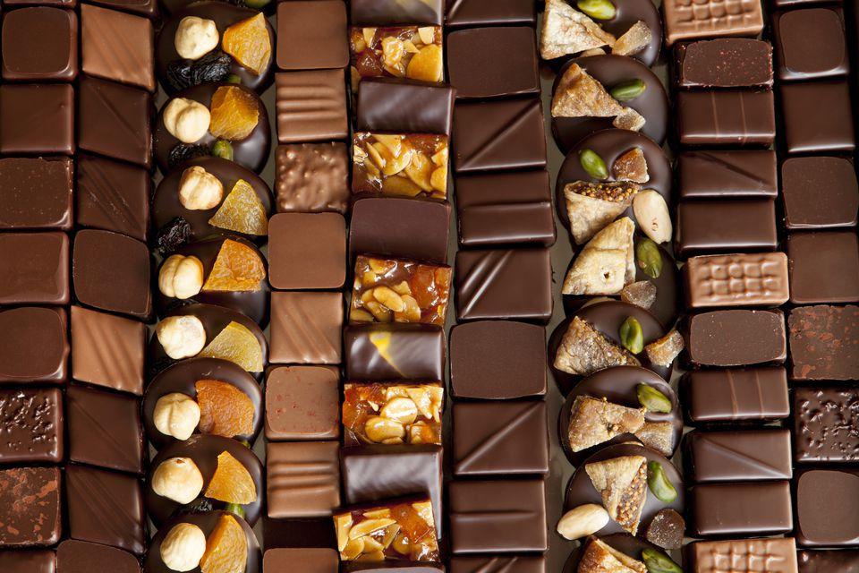 París es un importante destino para los chocolates gourmet.