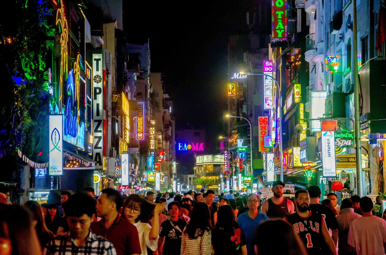 Pham Ngu Lao is the backpacker neighborhood in Ho Chi Minh City