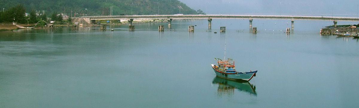 Bridge Across Lagoon at Lang Co