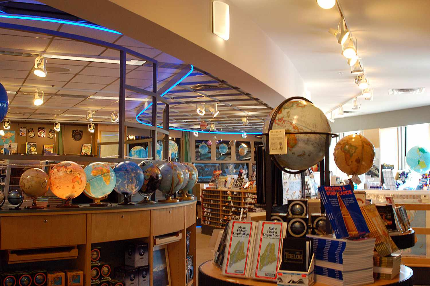 DeLorme Map Store Yarmouth Maine