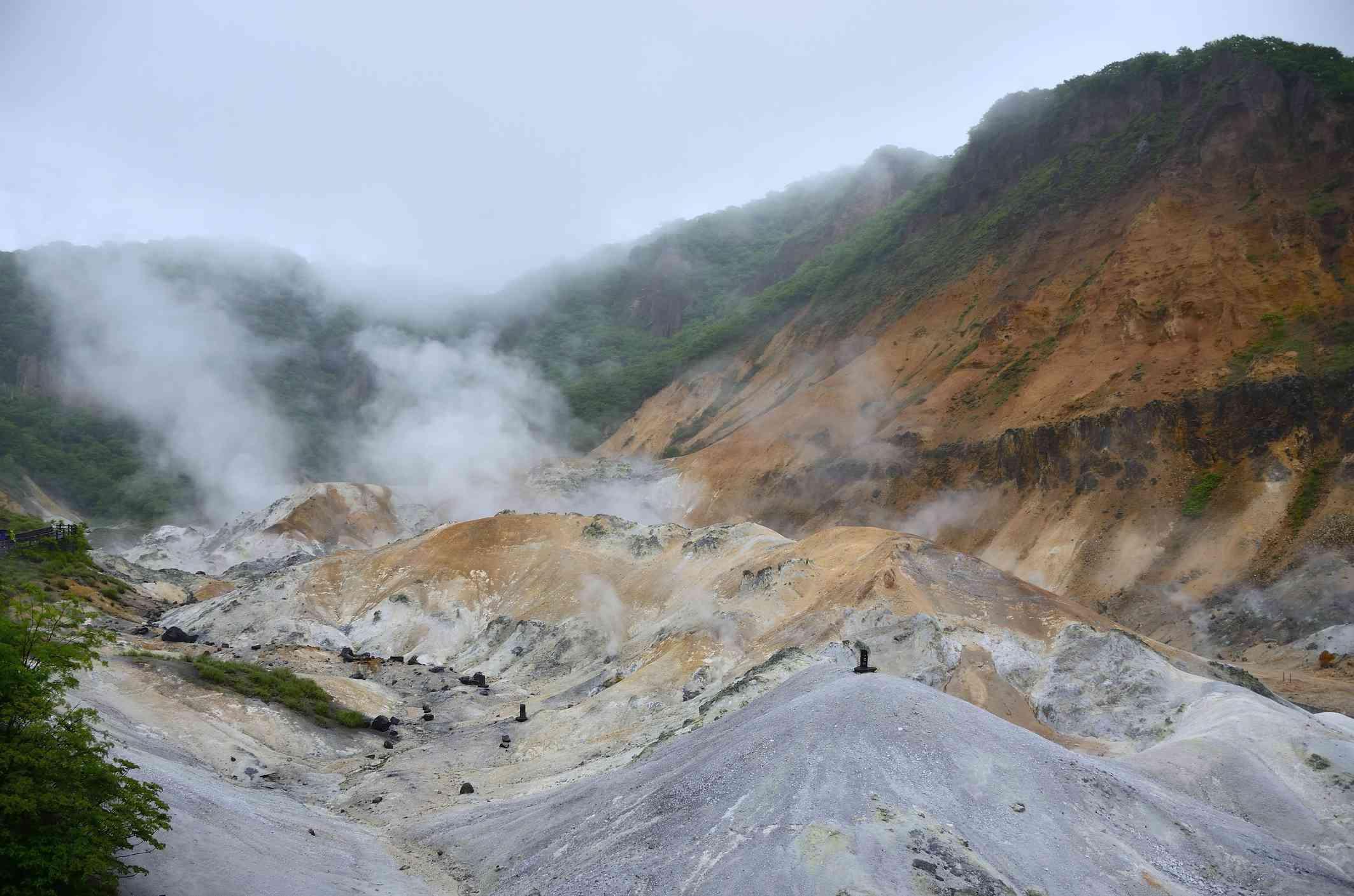 Hokkaido Hell Valley