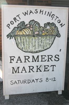 Port Washington Organic Farmers Market, NY