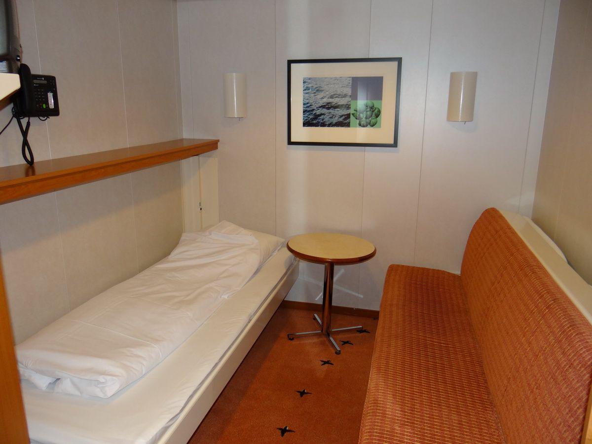 Midnatsol Inside Cabin - Hurtigruten Coastal Liner Accommodations