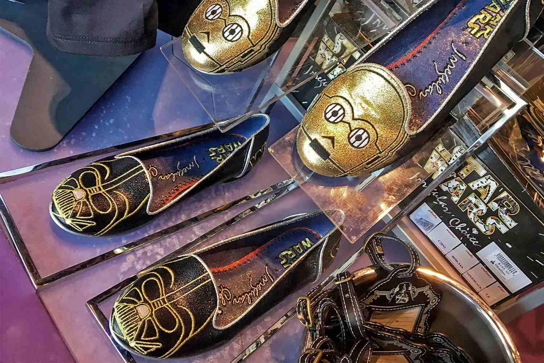 Zapatos con temática de Star Wars en Disneyland