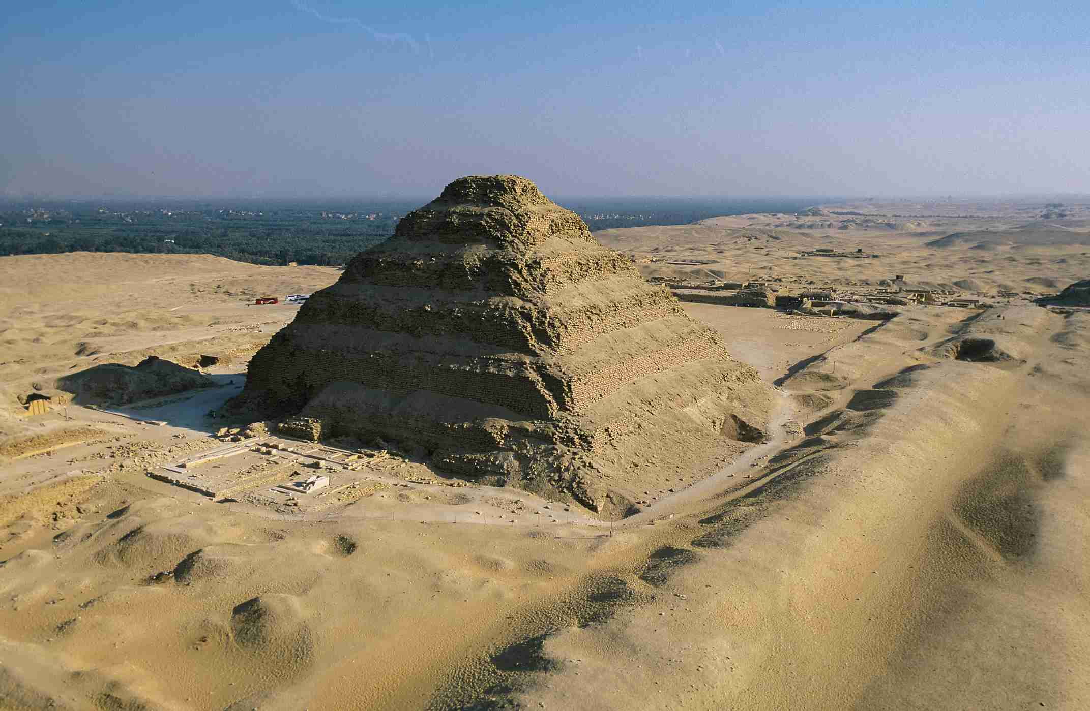 Djoser Pyramid in Saqqara, Egypt