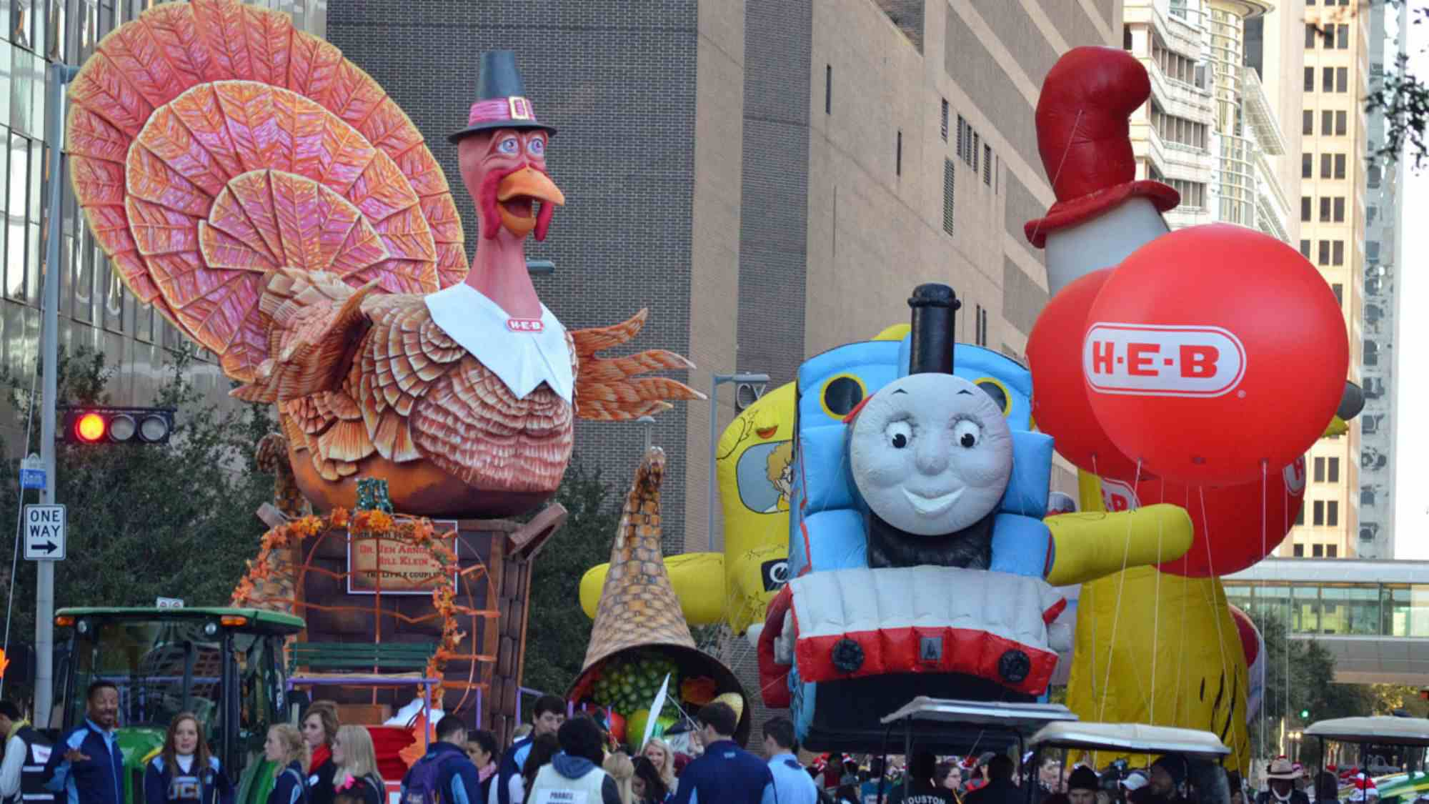 Houston's Annual Thanksgiving Day Parade