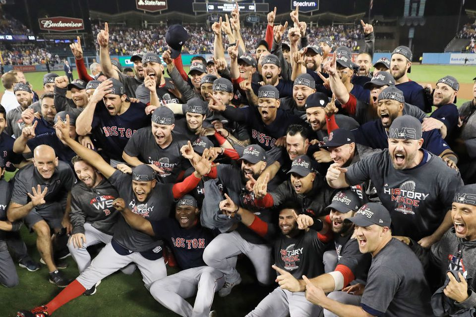 Boston Red Sox Win 2018 World Series