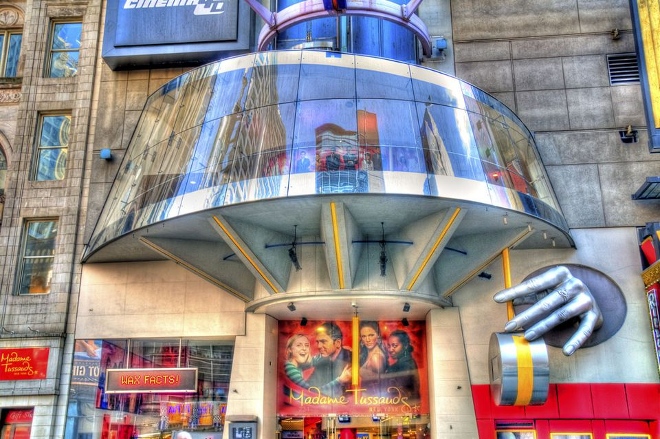 Madame Tussauds, New York, HDR