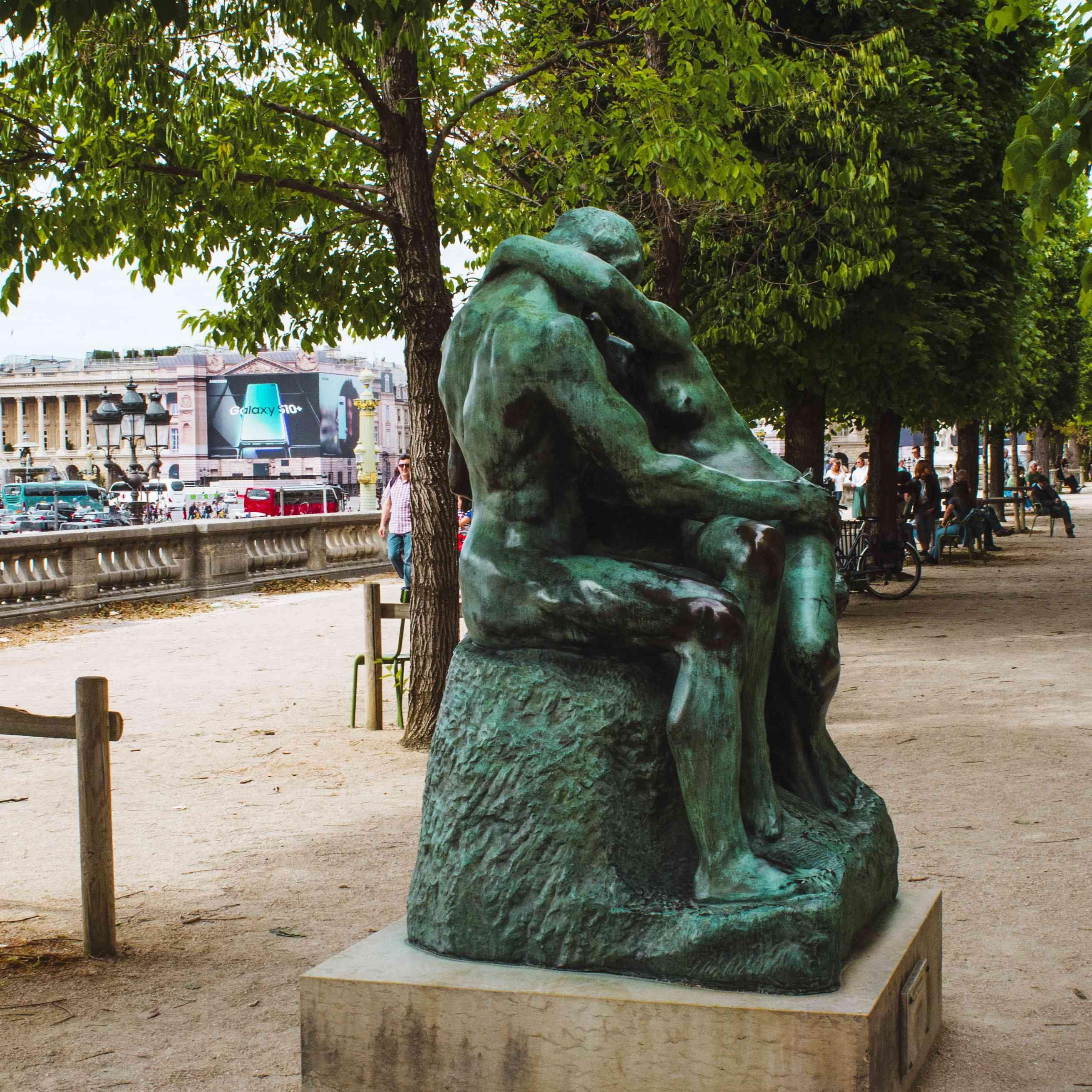 Statue outside of Orangerie