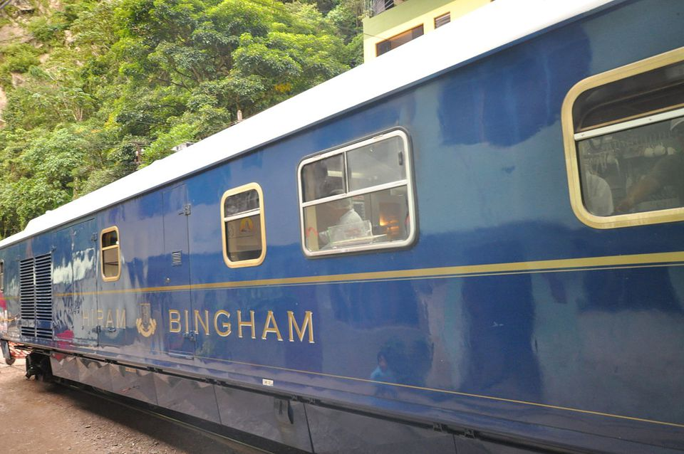 Hiram Bingham Orient Express Train To Machu Picchu