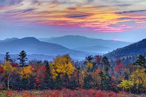 Autumn Sunrise White Mountain National Forest