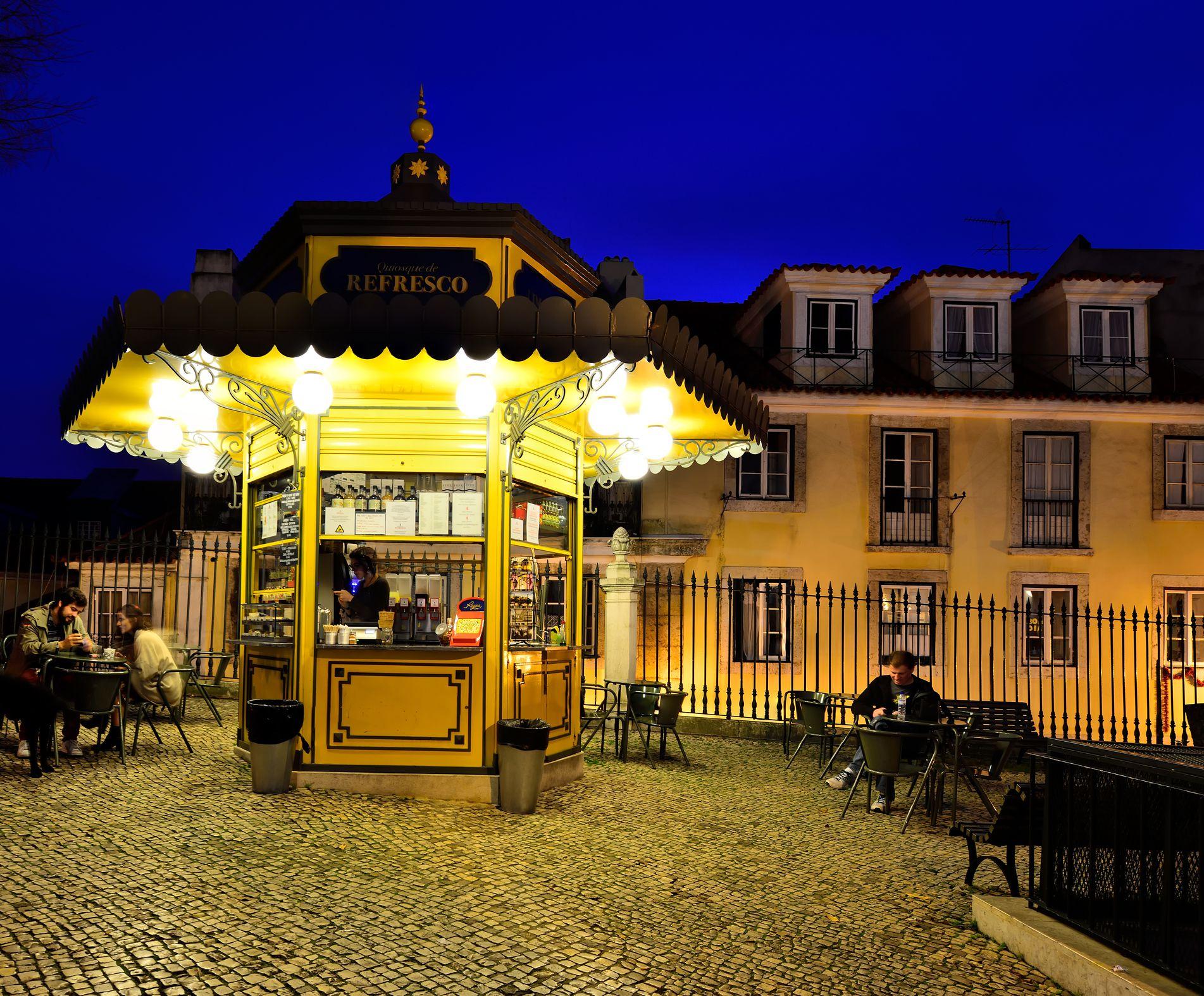 Kiosk, Lisbon