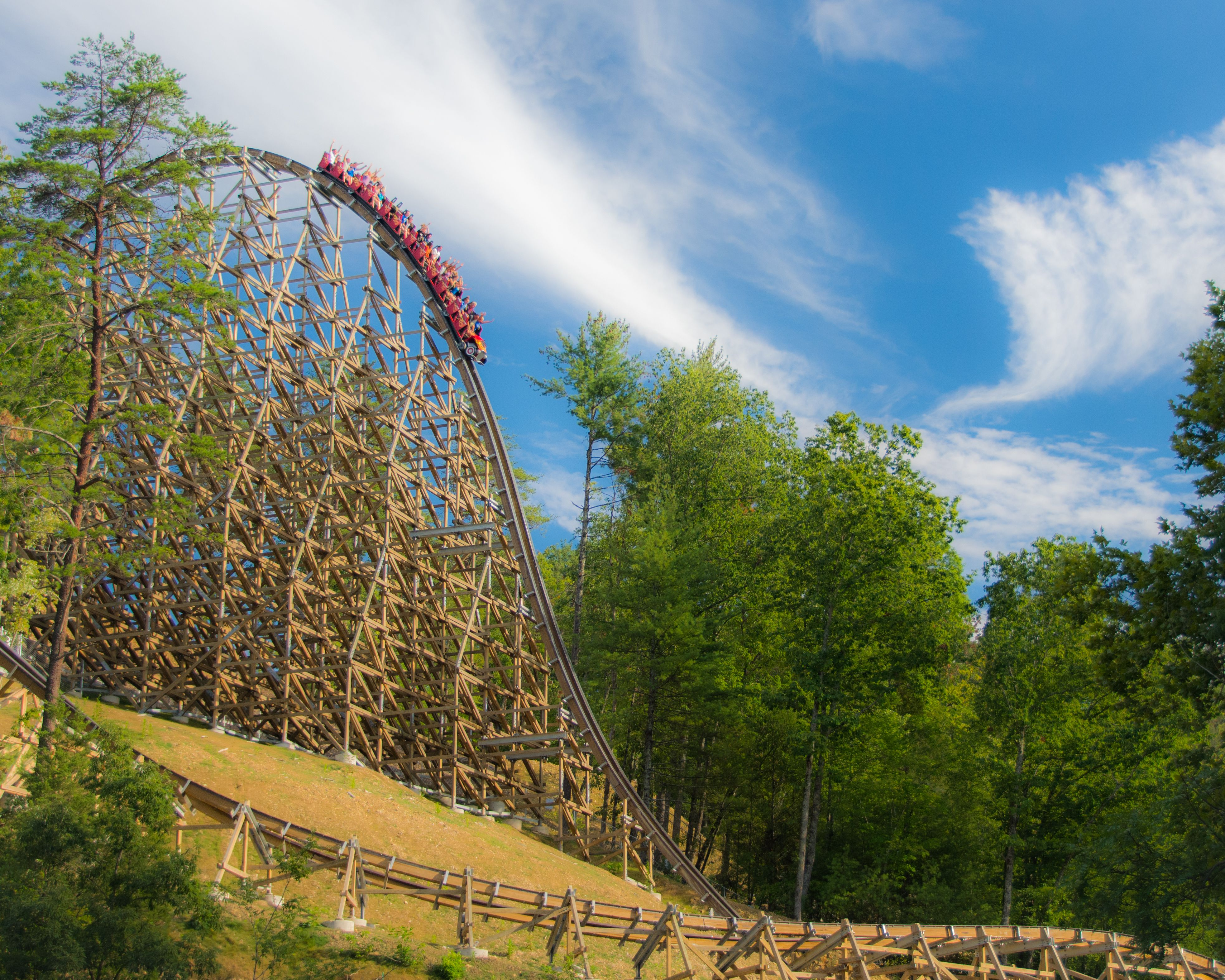 Dollywood's Lightning Rod - Review of the Roller Coaster