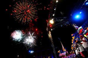 Fireworks in Oslo