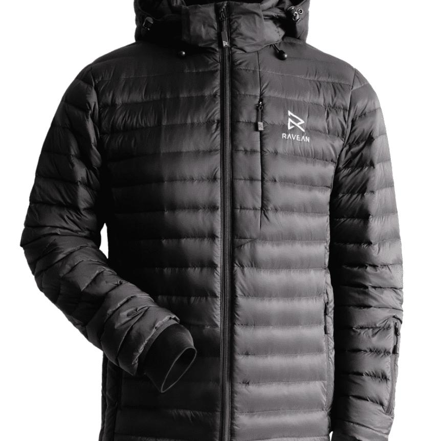 Washable USB Powered Heated Winter Heated Jacket Warm Winter Jacket with 3 Levels Adjustable Temperature. rocboc Electric Jacket