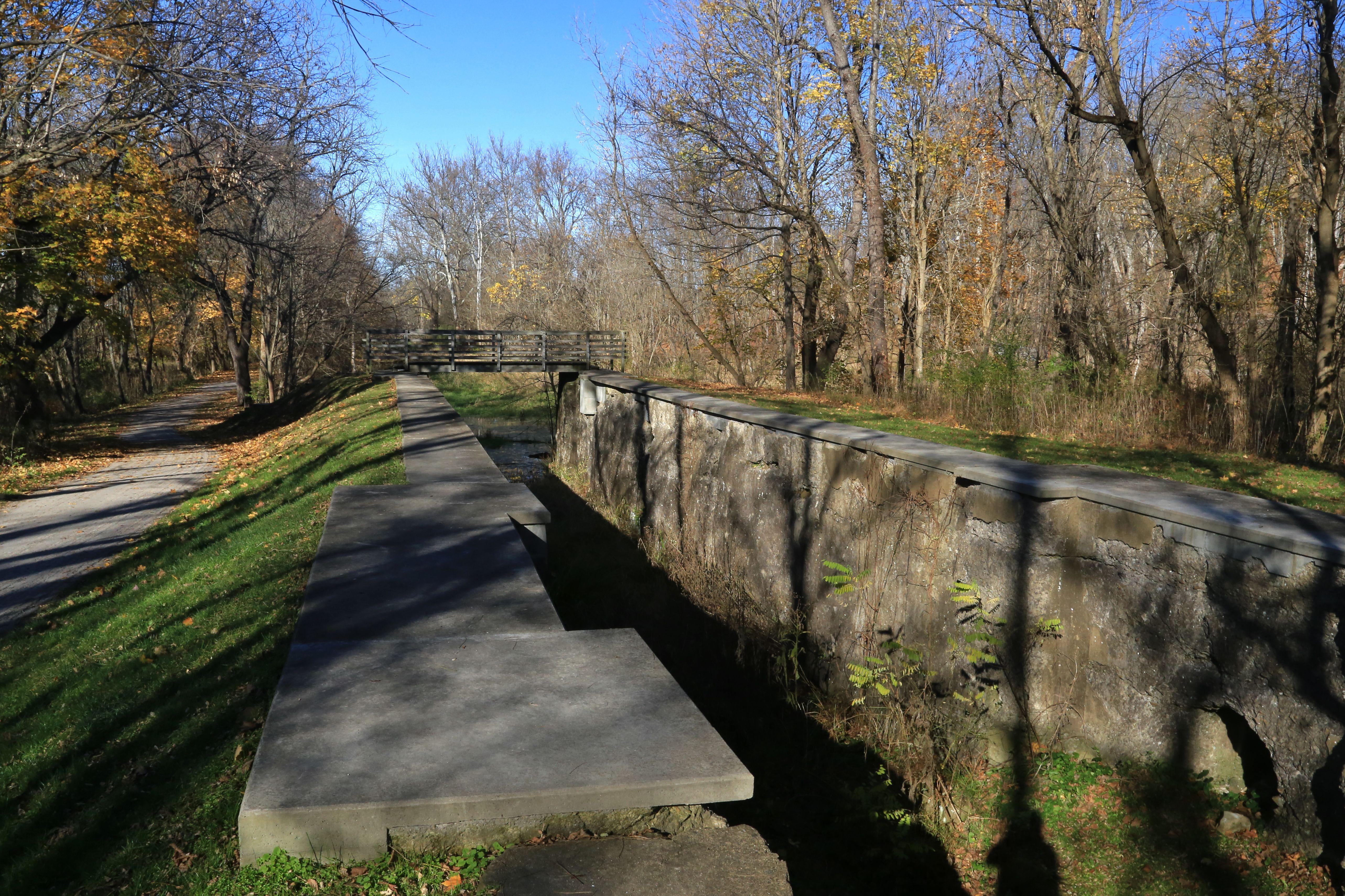 Ohio and Erie Canal, Boston Township, Ohio, USA