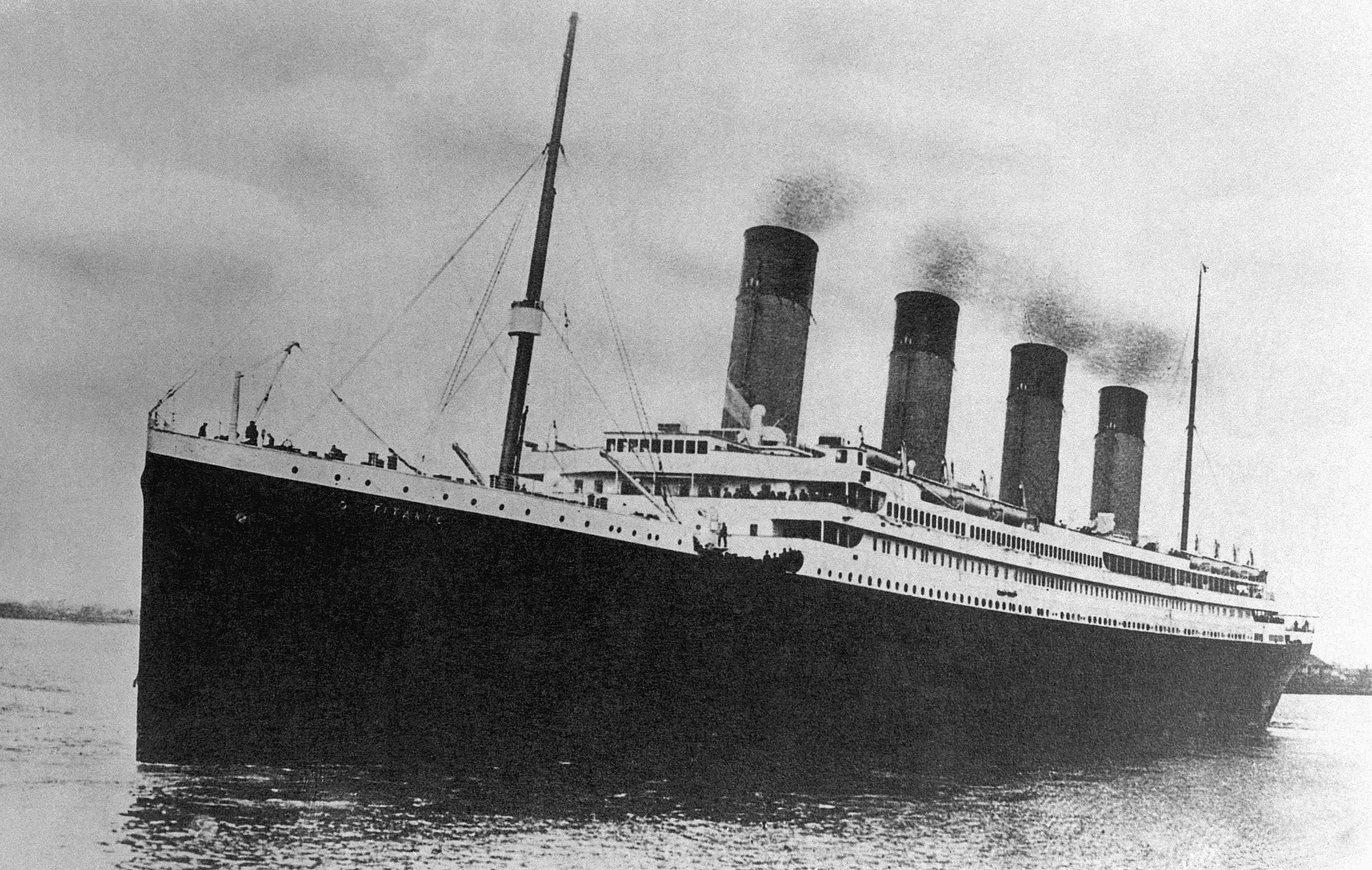 Titanic on Maiden Voyage
