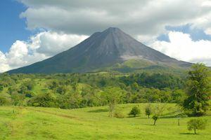 Arenal volcano Costa Rica.