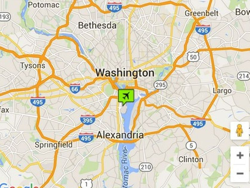 Reagan Airport Washington Dc Map - The Best Airport in The Whole World