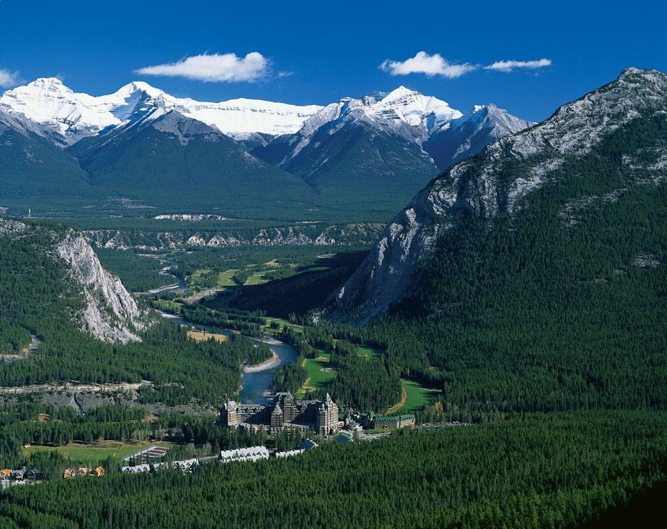 Canadian Rockies tour - Review of Fairmont Banff Springs ...