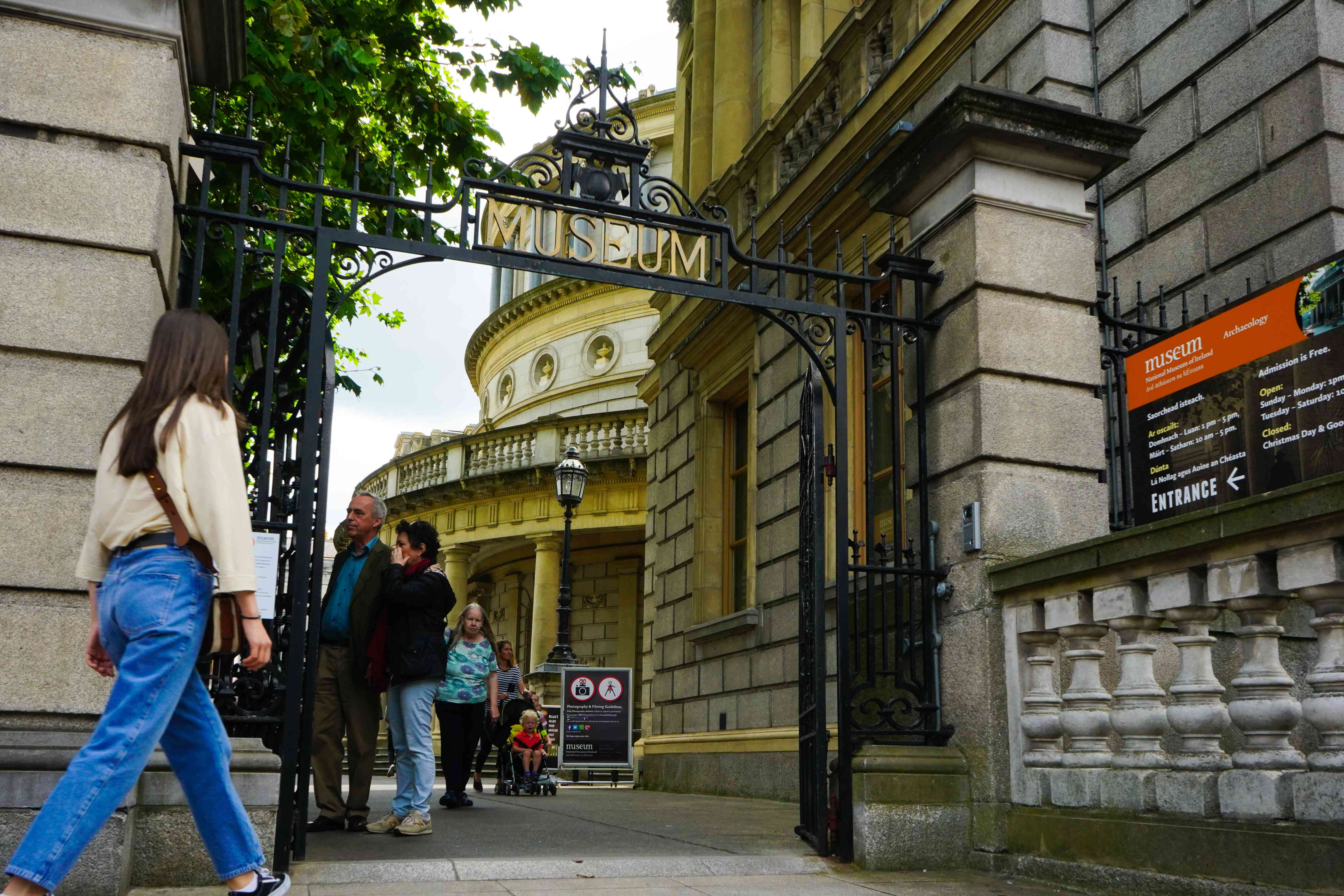 The National Museum of Ireland in Dublin