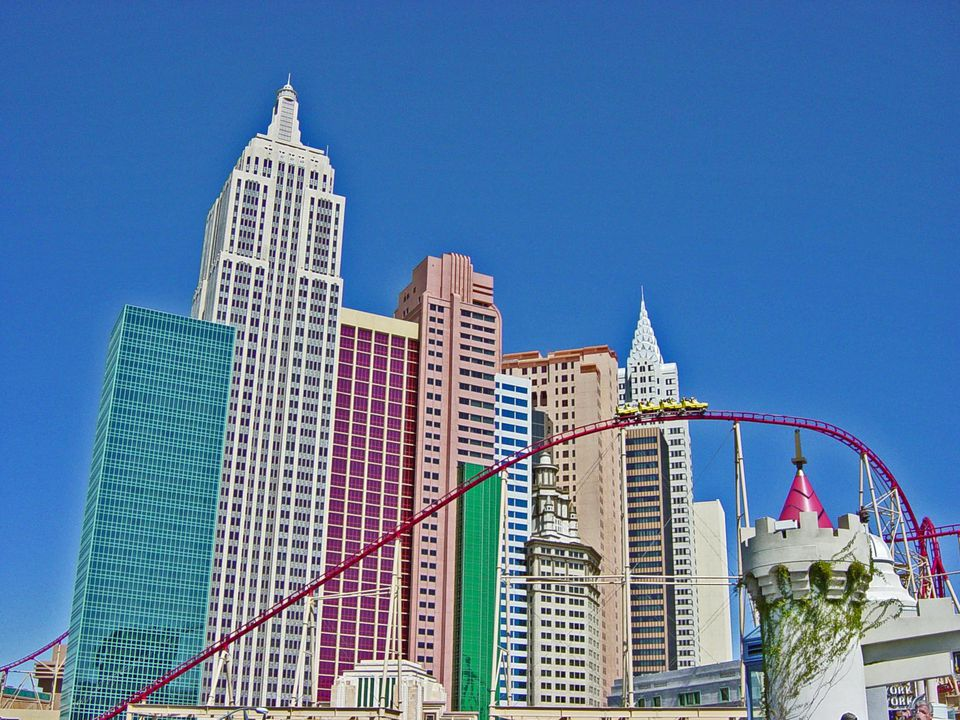 New York, New York on the Las Vegas strip