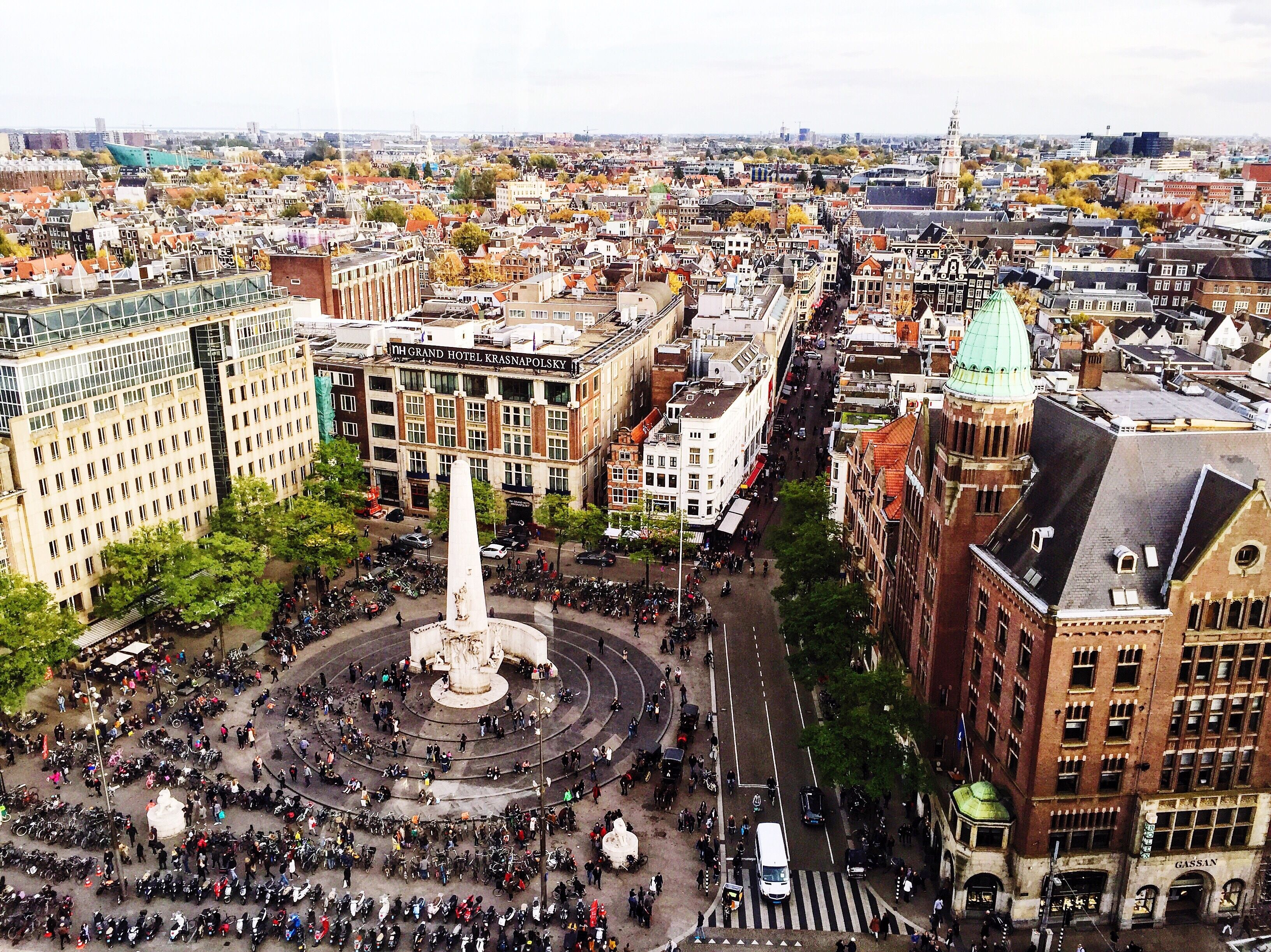 National Monument At Dam Square