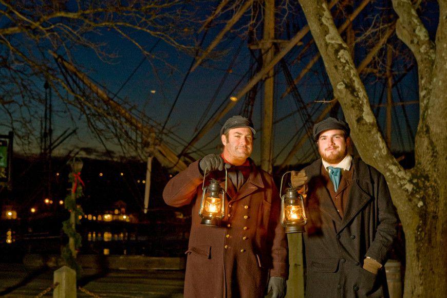 Lantern Light Tours at Mystic Seaport