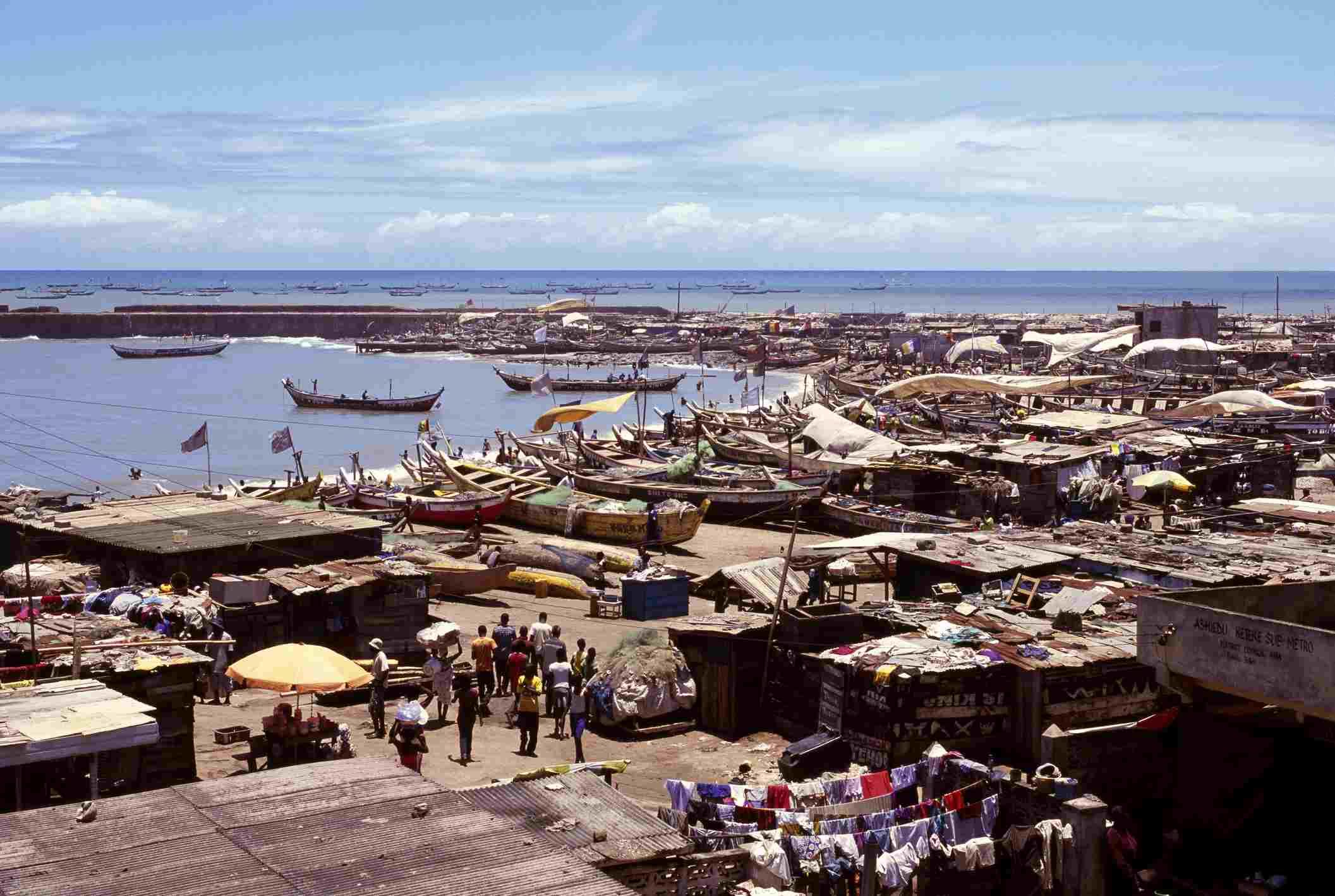 Jamestown Harbor, Accra