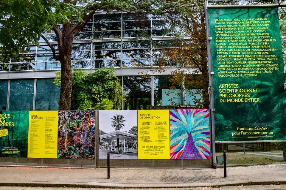 Fondation Cartier Contemporary Arts Center in Paris