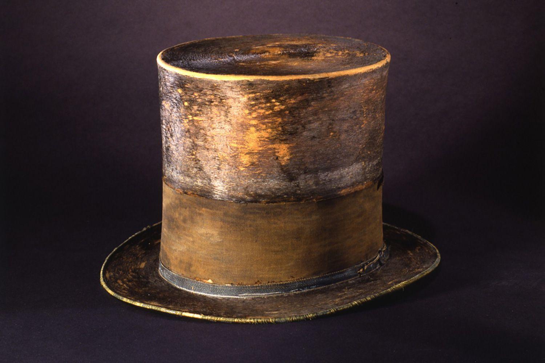 Sombrero de Lincoln del Museo de Historia Americana