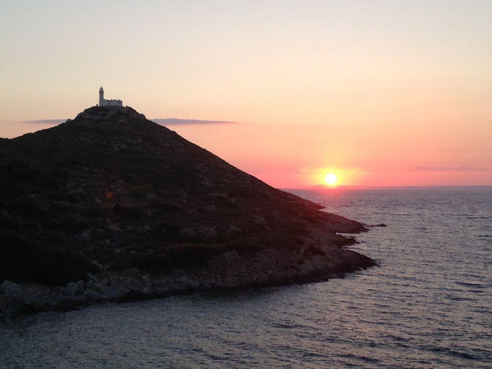 Sunset over the Mediterranean on the Turquoise Coast of Turkey