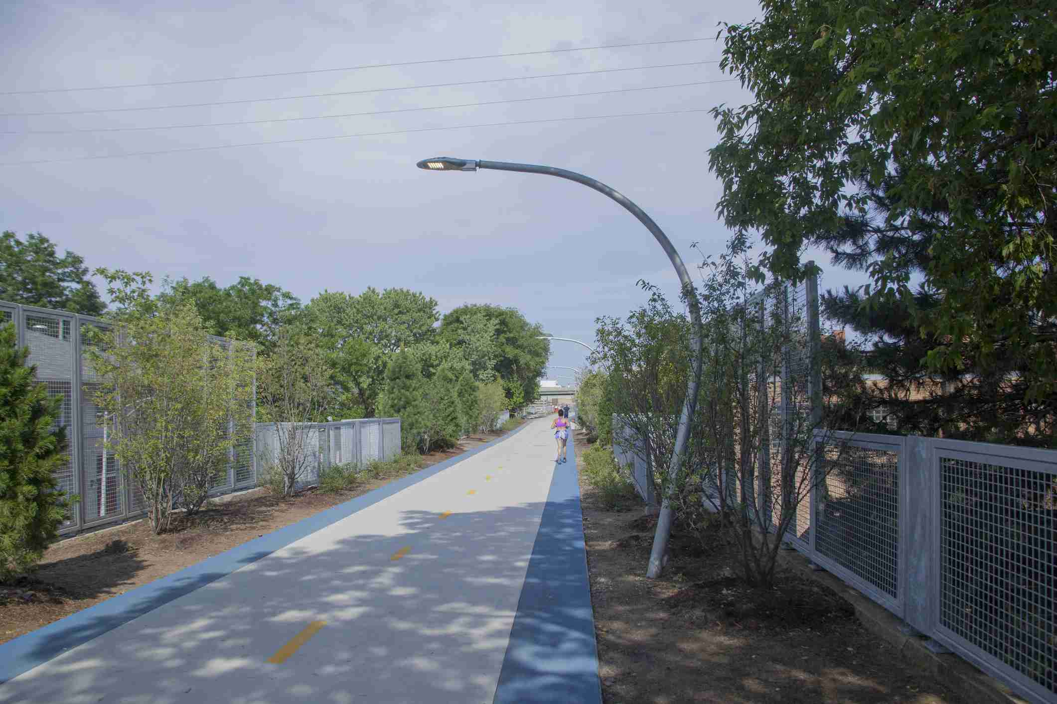 Bloomingdale trail a part of the 606 in Chicago, IL