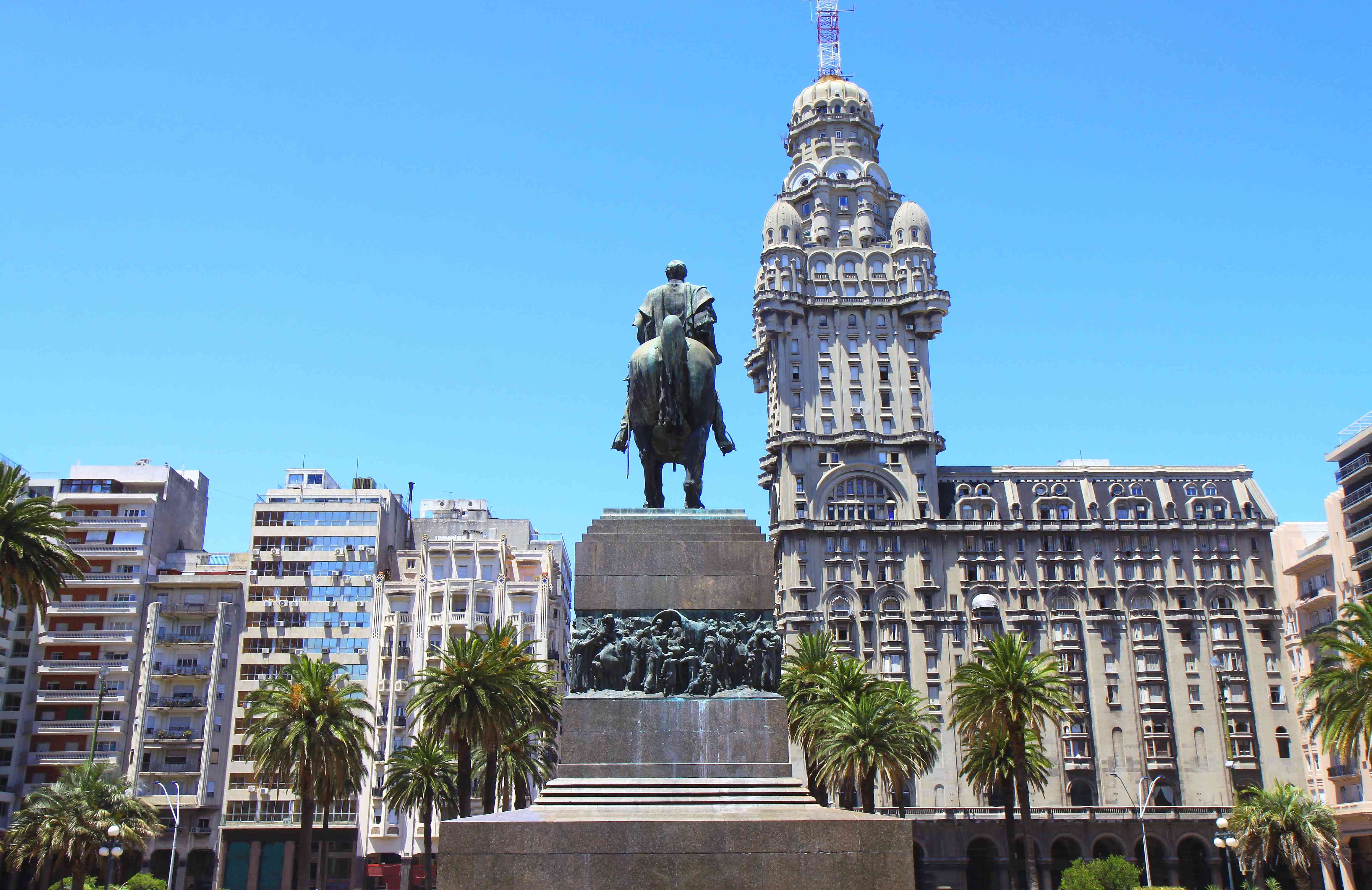 Independence Square, Montevideo, Uruguay
