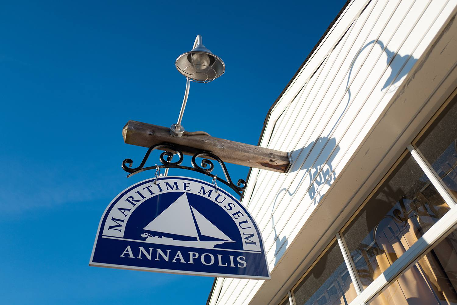 Signage for the Annapolis Maritime Museum