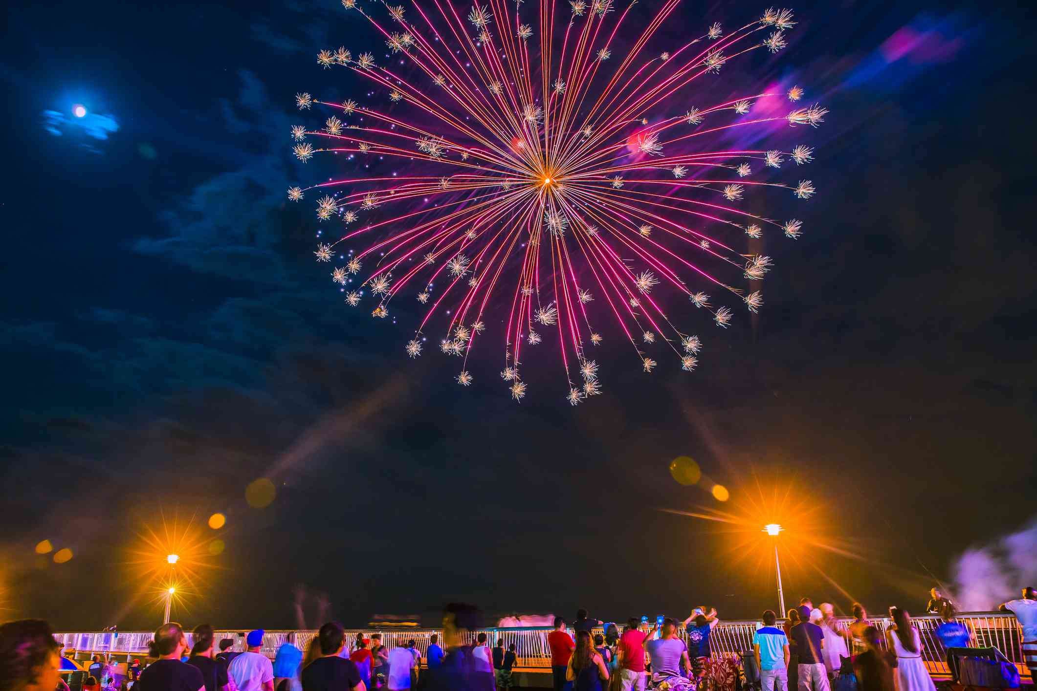 New York Fireworks on Coney Island