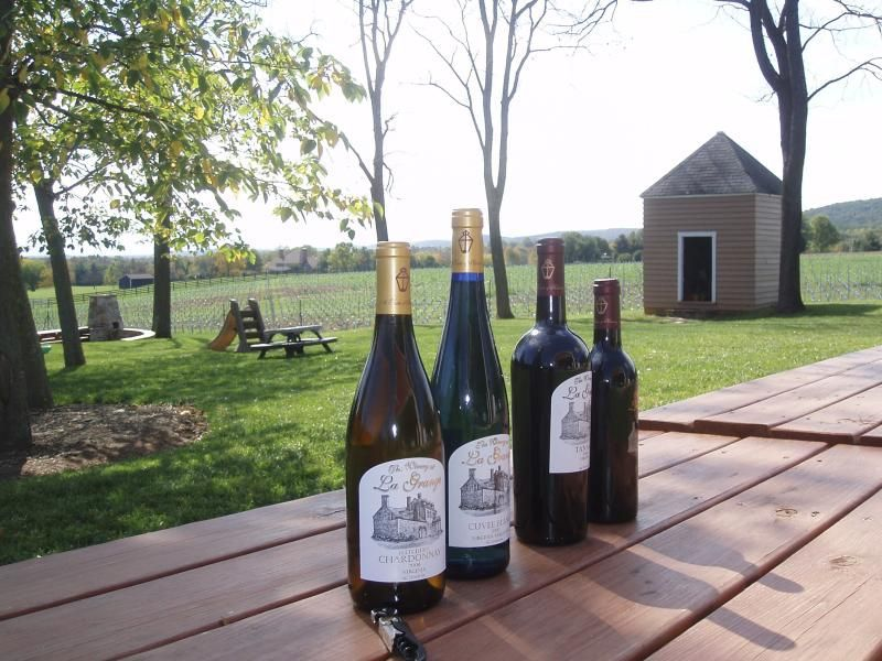 Wine at a Virginia Winery