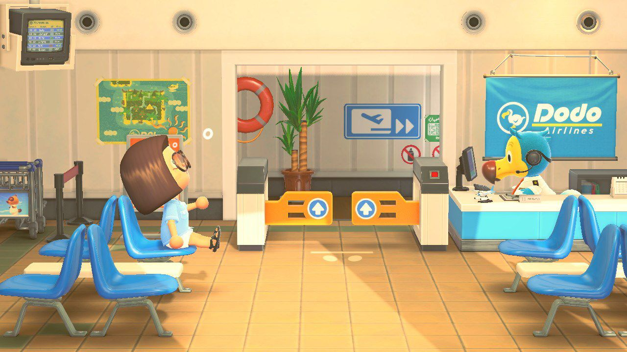 Animal Crossing airport
