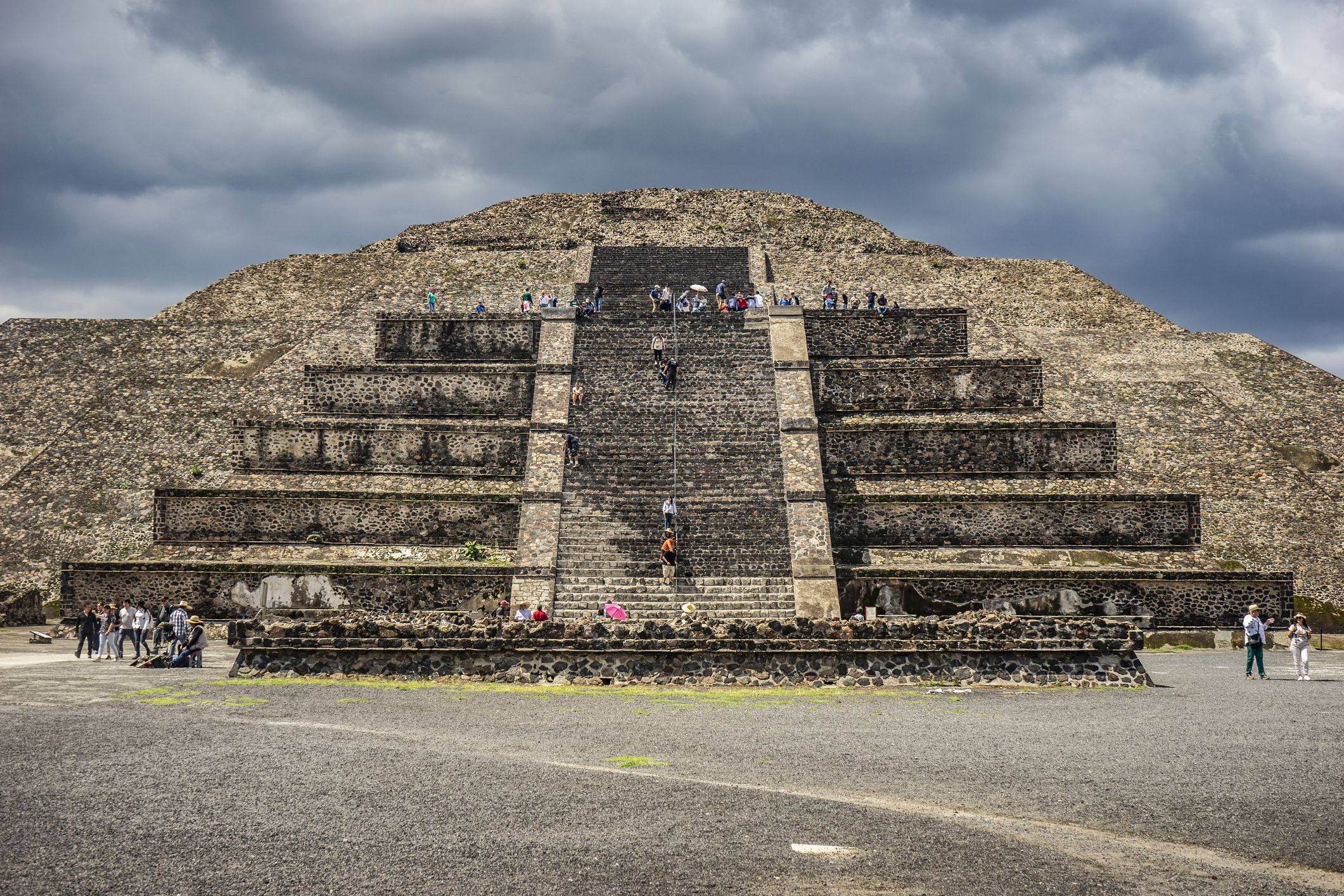 Teotihuacan's Pyramid of the Moon