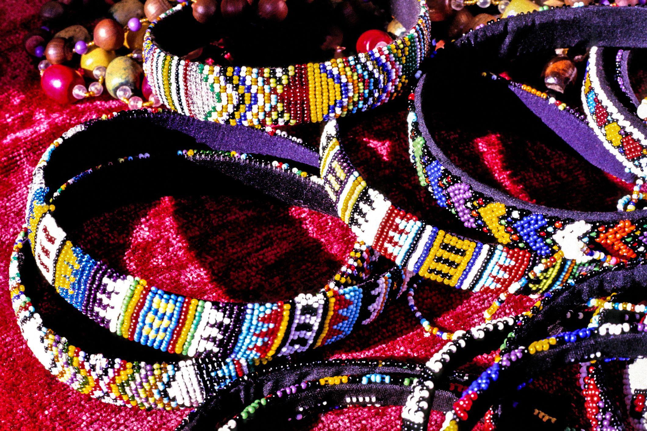 Traditional Zulu beadwork