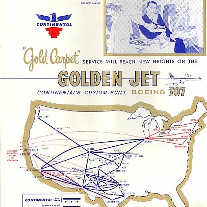 FlashbackFriday - 8 Classic Airline Route Maps