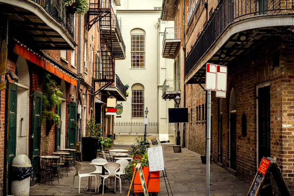 French Quarter Alley, Nueva Orleans