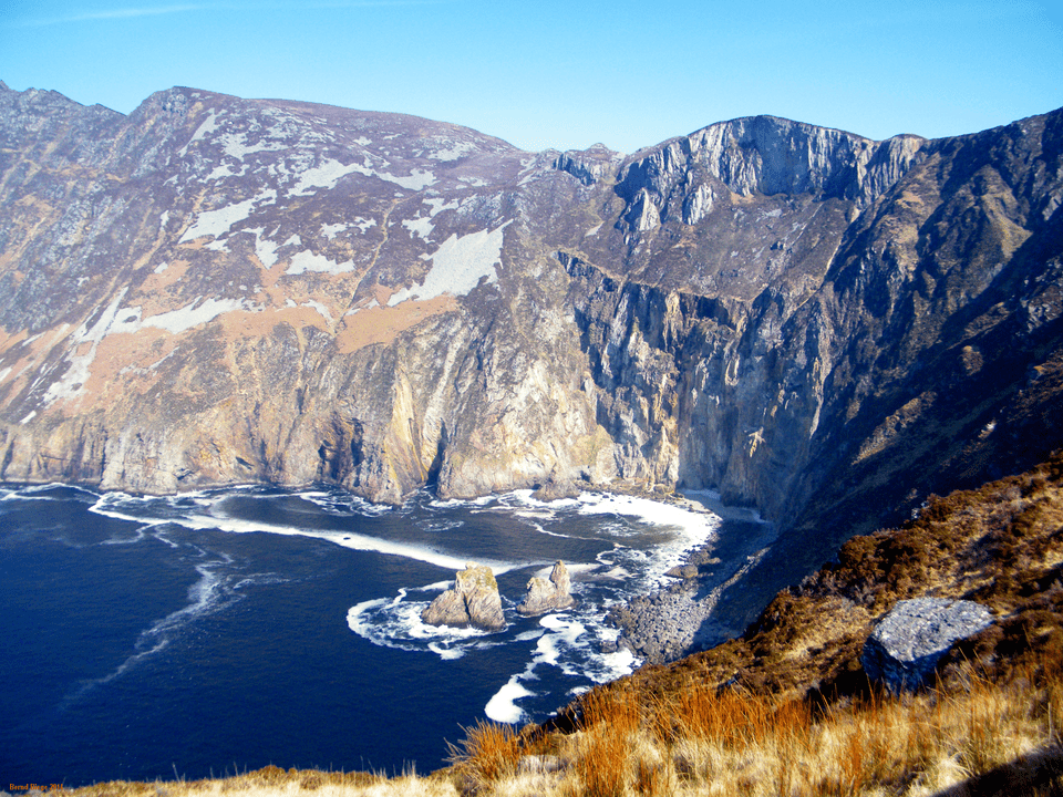 Slieve League in County Donegal