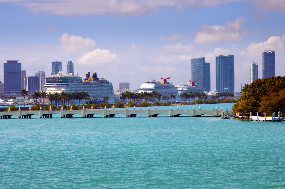 Cruise Ships, Miami, Florida